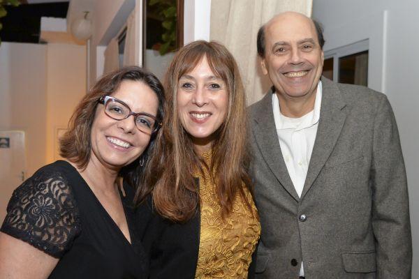 Denise Pires, Gabriela Brenta e Mario Vaisman