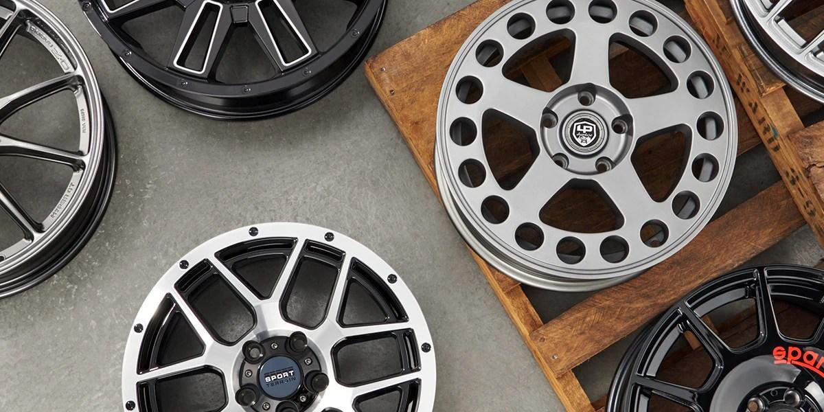 wheels tire rack