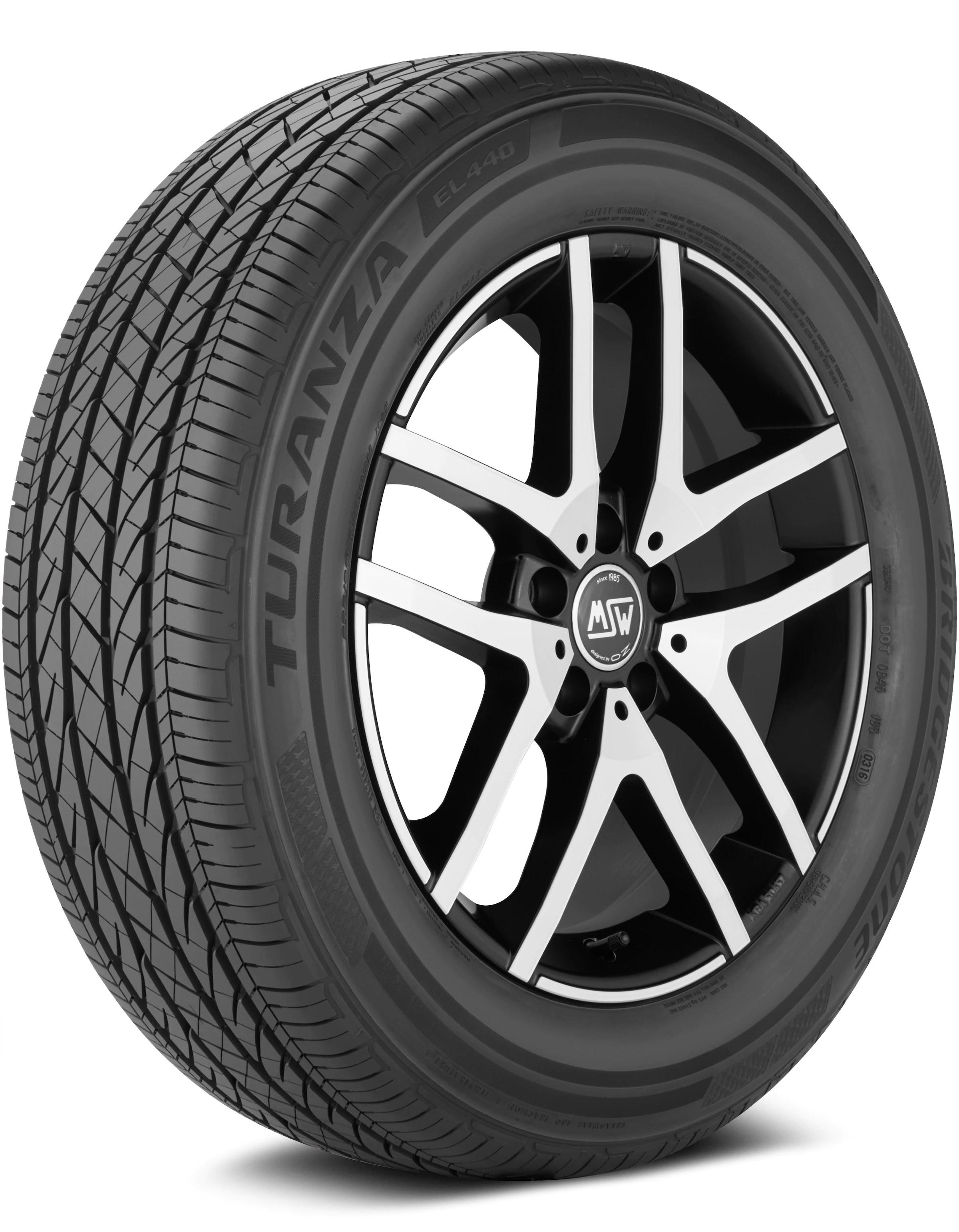 bridgestone turanza el440 235 45 18 tire