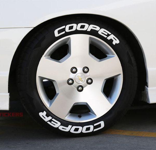 COOPER Tires  TIRE STICKERS COM