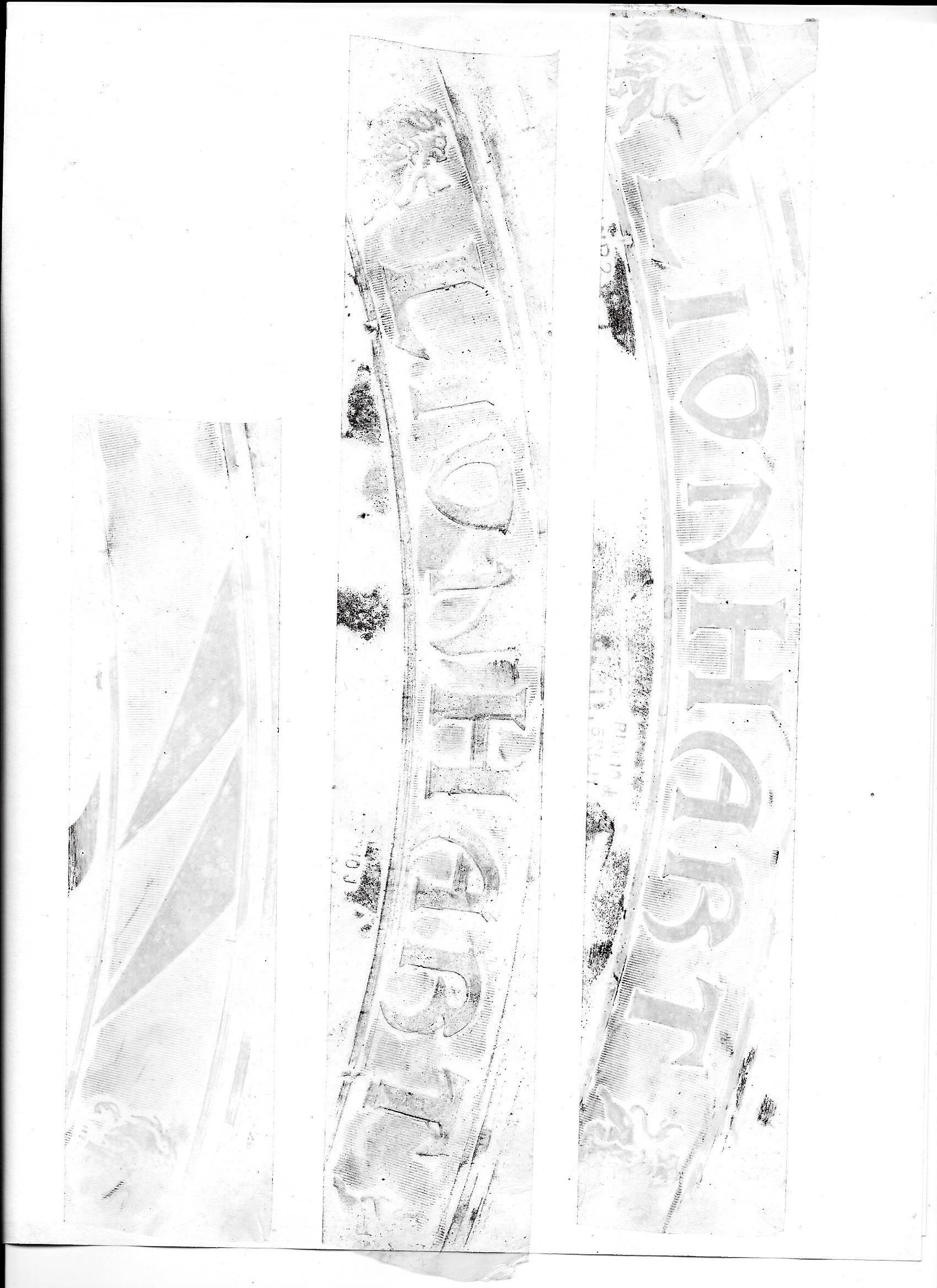 hight resolution of kenda radial tire scan