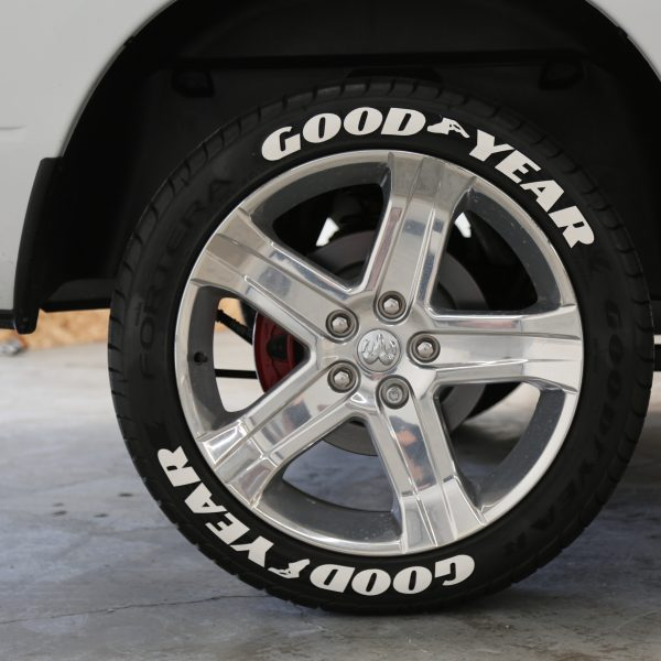 Officially Licensed Goodyear Eagle F1 Lettering  TIRE