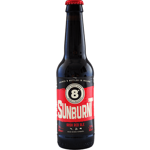 Eight Degrees Sunburnt Irish Red Ale