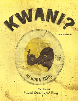 The Gentle Man from Iten, Kwani? 08