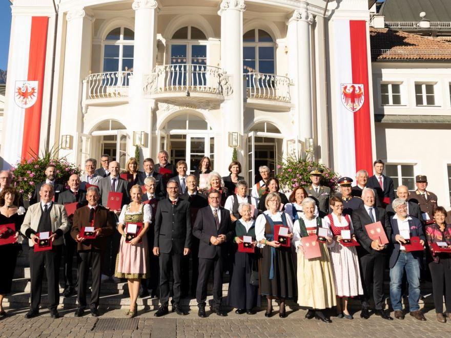 Verdienstkreuze für das Land Tirol auf Oberland DABEI