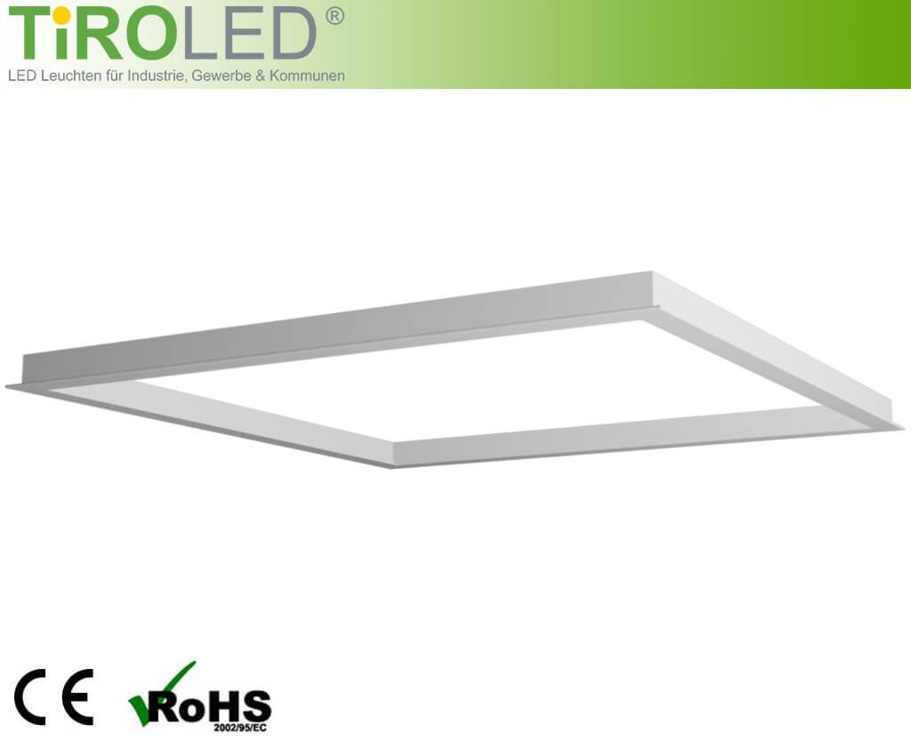 Premium Einbaurahmen für LED-Panels verfügbar