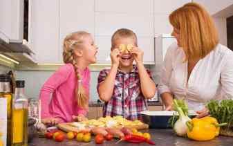 Warum sollten Kinder mehr Zeit in der Küche verbringen?
