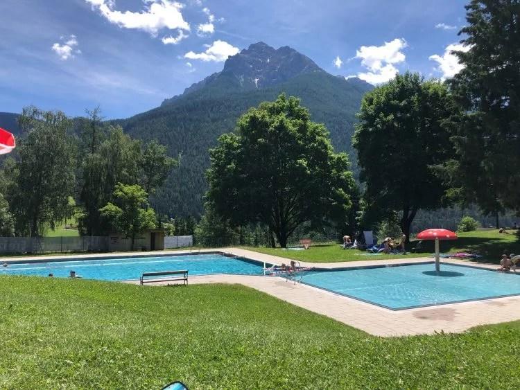 Schwimmbad Stubay