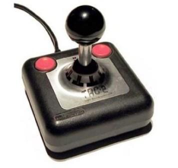 Foto de joystick de video consola antigua