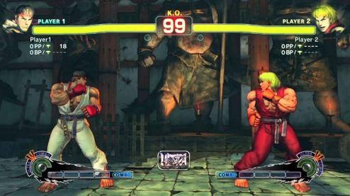 Una imagen de un combate de Street Fighter entre Ryu y Ken