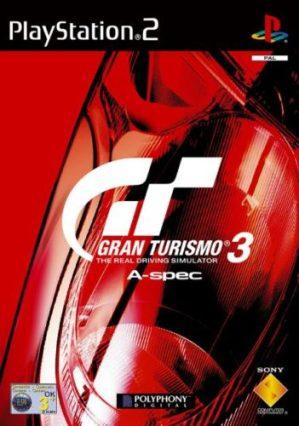 Portada del videojuego de PS2 Gran Turismo 3