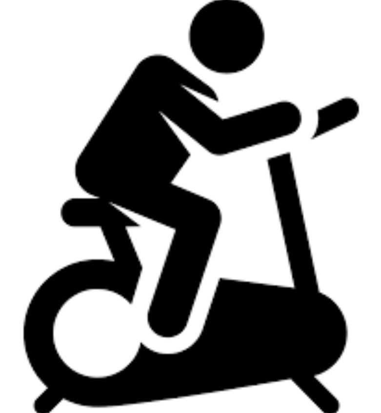 Bicicletas estáticas plegables