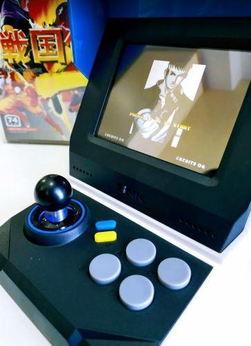 En la foto la Neo-Geo mini
