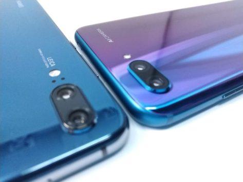 Huawei P20 vs Honor 10
