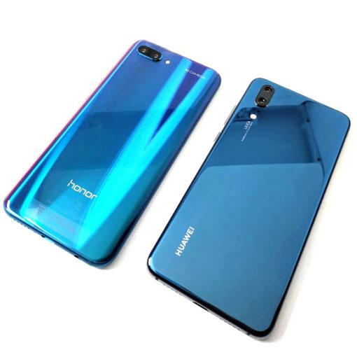 Honor 10 y Huawei P20