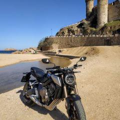 Prueba de la Honda CB 650 R