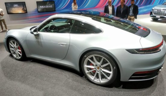 En la foto el superdeportivo alemán por excelencia el Porsche 911 Carrera 4S