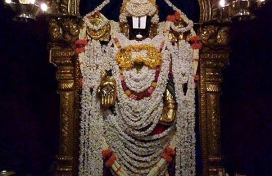 Floral Decoration To Lord Sri Venkateswara