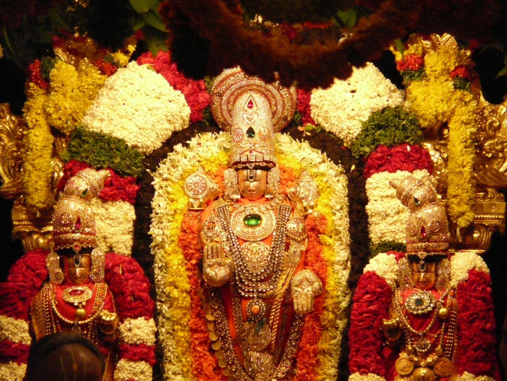 Image result for Tulasi Archana to Lord Venkateswara