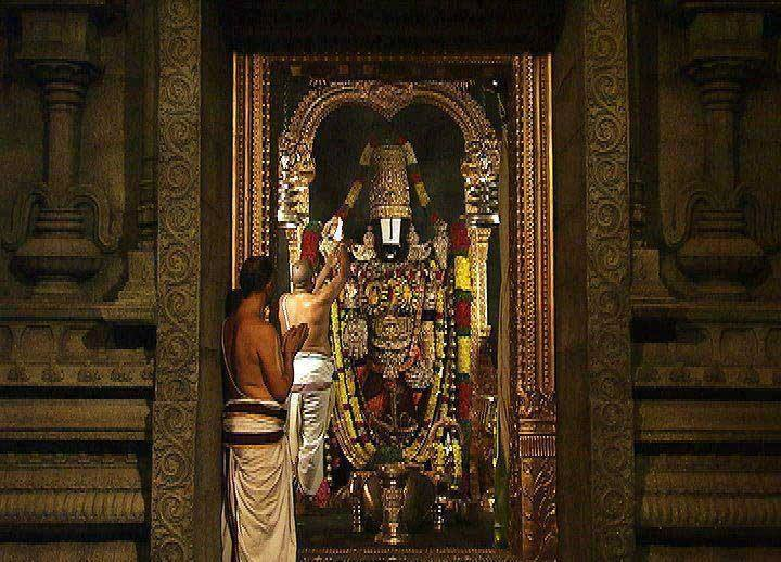 Daily Seva To Lord Sri Venkateswara