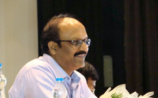 Sriram Sir Addressing His Followers