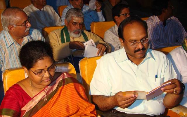 Sriram Sir With His Wife