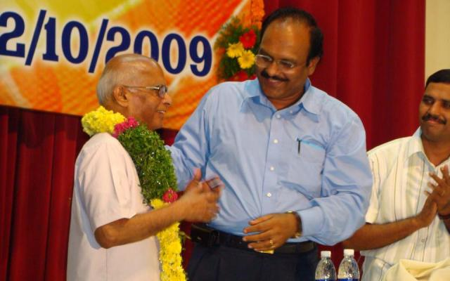 Sriram Sir With Prof Sivarama Krishna
