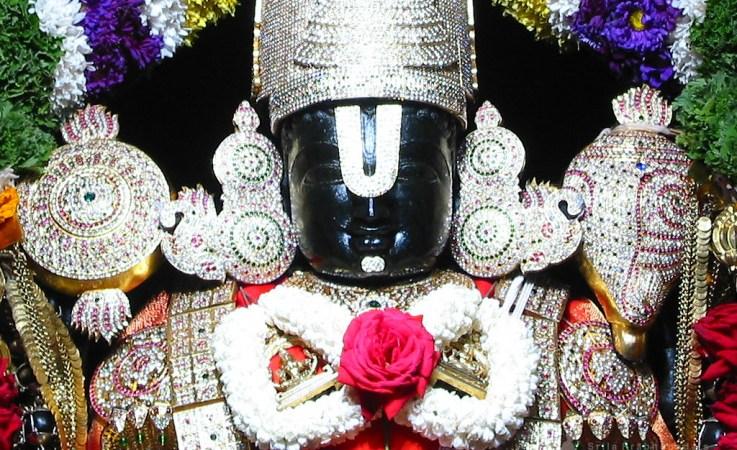 Sri Balaji Of Tirumala Temple