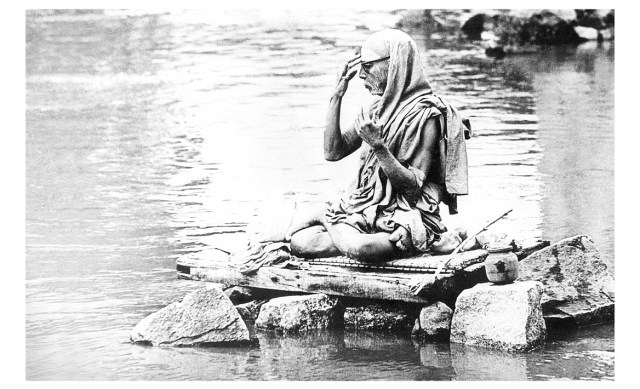 His Holiness The Maha Periyava Of Knachi Kamakoti Peetam