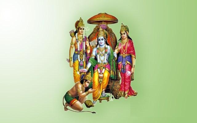 Lord Sriram And Goddess Sita Devi