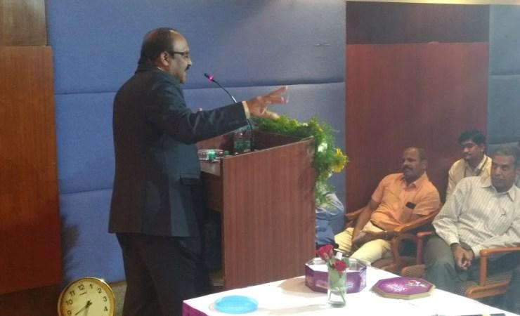 Sriram Sir Delivering Speech