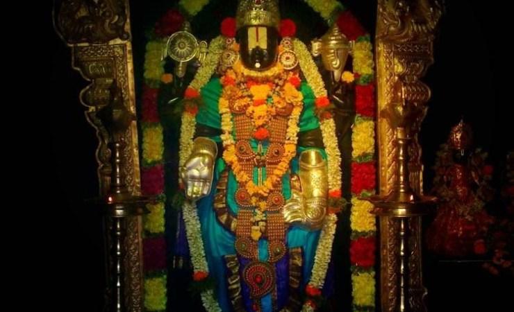 Lord Sri Venkateswara In a Pune Temple