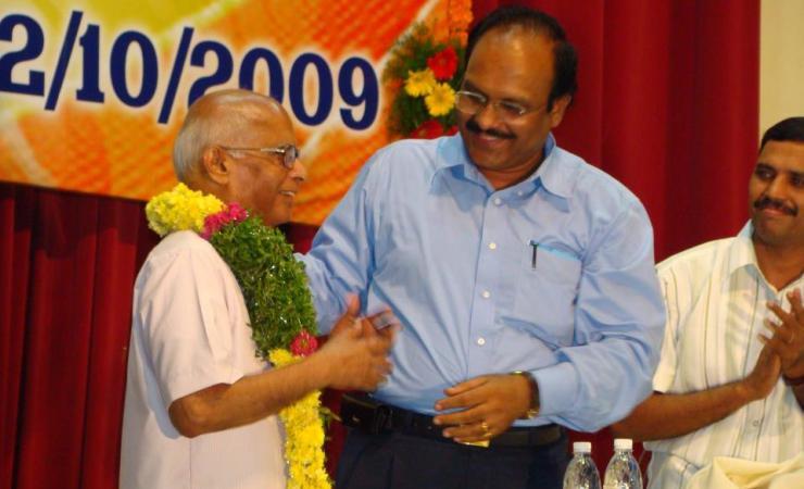 Sriram Sir With Prof.Sivarama Krishna
