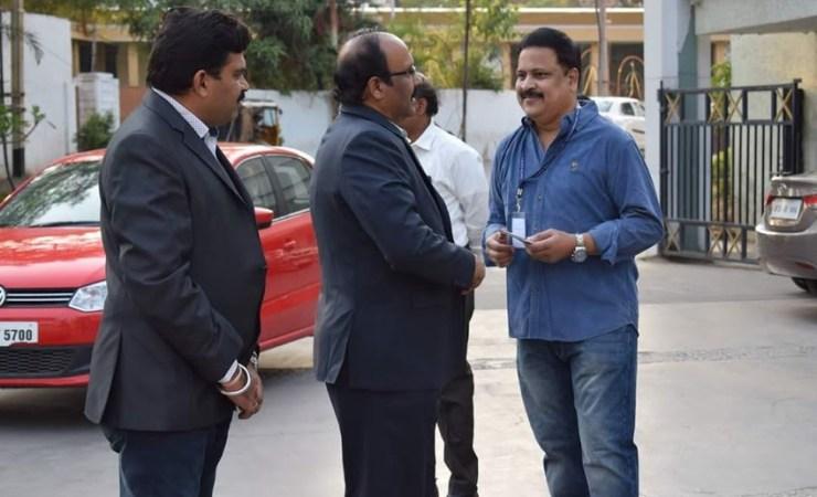 Sriram Sir Arriving for God On Call launch