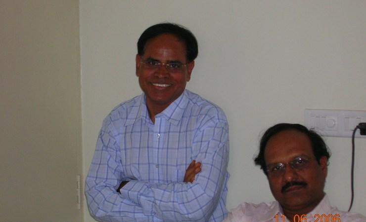 Vijay Mohan With Sriram Sir