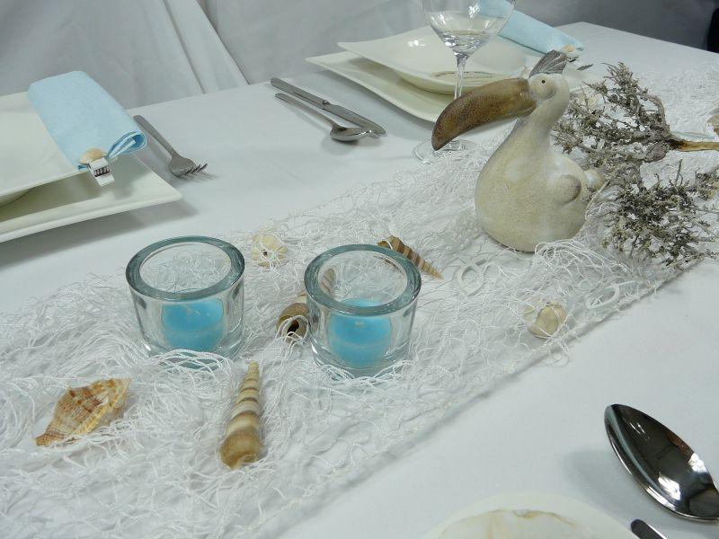 Mustertische und Tischdekoration zum Sommer bei Tischdeko