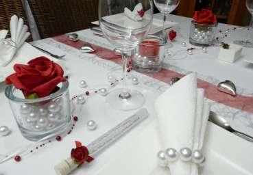 Gastgeschenk  Reagenzglas Glasrhrchen mit einer Rose