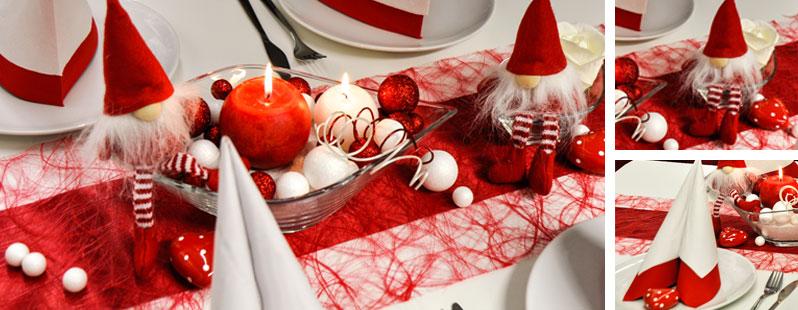 Tischdeko Hochzeit Rot Rot Wei Pictures to pin on Pinterest