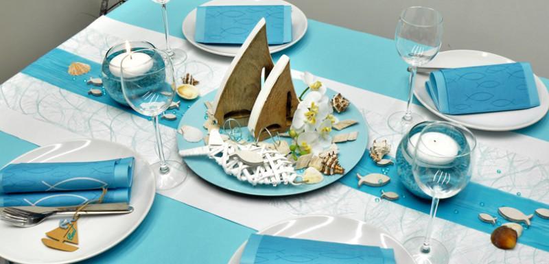 Sommerliche Tischdeko fr Drinnen und Drauen  Tischdeko
