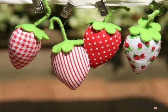 Tischdeckenhalter Erdbeere