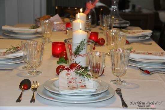 Tischdeko italienischer Abend