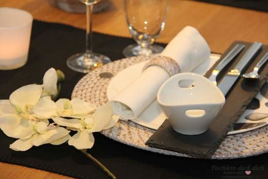 Tischdekoration Asien asiatische Tischdeko