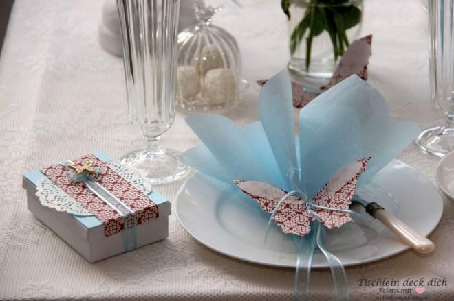 Tischdeko-Kaffeetafel-Schmetterling-1