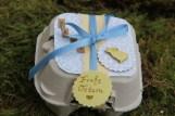 Basteln mit Eierkartons Give away zu Ostern