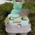 Basteln mit Eierkartons Gastgeschenk zu Ostern