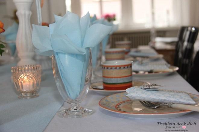 Geburtstag im Mai - Frühlingshafte Kaffeetafel
