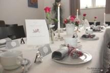 standesamtliche Hochzeit Tischdekoration