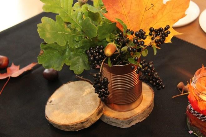 Herbstdeko Baumscheibe