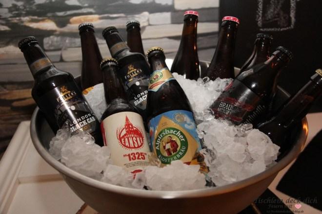 Bierverkostung Flaschenkühler