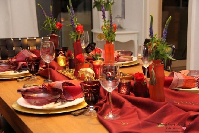 Tischdekoration Türkei